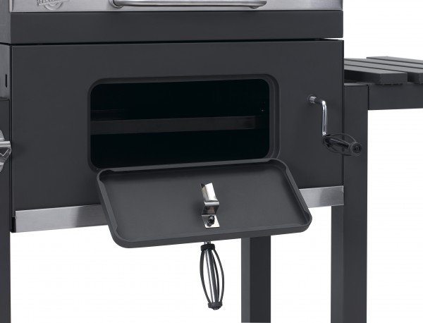 Tepro Toronto Holzkohlegrill Click Anleitung : Barbecue smoker tepro toronto einbrennen holzkohlegriller