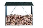 Firewood Shelter anthracite