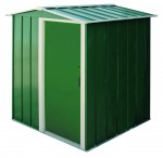 Metal Shed Eco 5x4 green