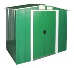 Metal Shed Eco 6x4 green