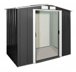 Metal Shed Eco 6x4 anthracite