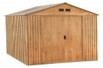 Metal Shed Colossus 10x8 oakwood decor