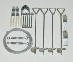 Anchoring Kit for Mythos Greenhouses