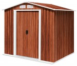 Metal Shed Riverton 6x4 wood grain