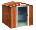 Metal Shed Riverton 6x6 wood grain