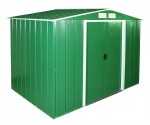 Metal Shed Eco 8x6 green