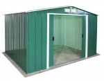Metal Shed Eco 10x8 green