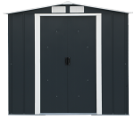Metal shed ECO 6x6 anthracite
