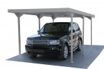 Palladium Carport Car Shelter silber